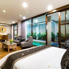 Отель Aleesha Villas 3* Вилла Делюкс с различными типами кроватей фото 10
