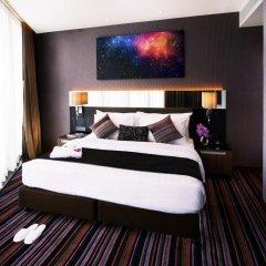 Отель The Continent Bangkok by Compass Hospitality 4* Стандартный номер с различными типами кроватей фото 20