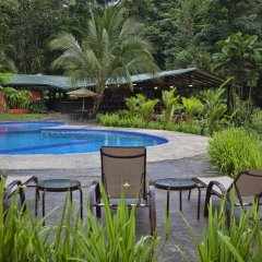 Отель Chachagua Rainforest Ecolodge бассейн