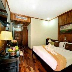 Vansana LuangPrabang Hotel 3* Стандартный номер с различными типами кроватей фото 5