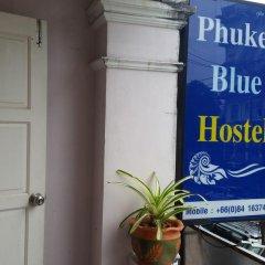 Phuket Blue Hostel Стандартный номер фото 13