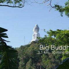 Отель Ban Thai Villa Пхукет приотельная территория