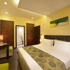 Marina View Deluxe Hotel Apartment комната для гостей