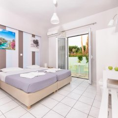 Отель Ilios Studios Stalis Студия с различными типами кроватей фото 9