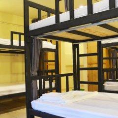 Chang Hostel Кровать в общем номере с двухъярусной кроватью фото 8