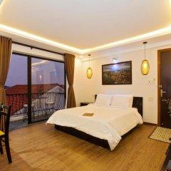 Отель Riverside Impression Homestay Villa 3* Стандартный номер с различными типами кроватей фото 7