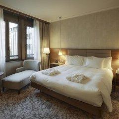 Отель Hilton Milan 4* Номер Делюкс с различными типами кроватей фото 5