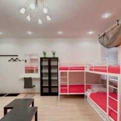 Хостел Мини-Мани на Крылова Кровать в общем номере с двухъярусной кроватью фото 2
