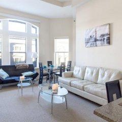 Апартаменты Heaven on Washington Furnished Apartments комната для гостей фото 5