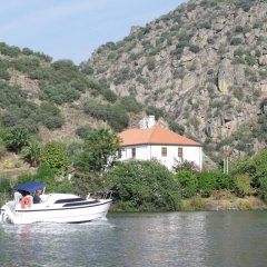 Отель Douro Yachts & Chalets Португалия, Провезенде - отзывы, цены и фото номеров - забронировать отель Douro Yachts & Chalets онлайн приотельная территория фото 2