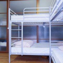 Хостел Moscow Friends Кровать в общем номере с двухъярусной кроватью фото 16