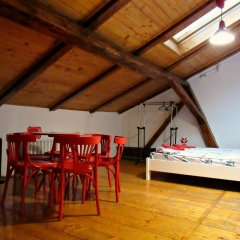 Hostel Just Lviv It! Стандартный семейный номер разные типы кроватей
