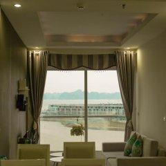 Отель Condotel Ha Long Апартаменты с различными типами кроватей фото 28