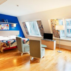 Отель Scandic Hakaniemi 3* Улучшенный номер с различными типами кроватей