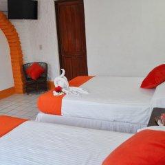 Hotel Hacienda de Vallarta Centro 3* Стандартный номер с различными типами кроватей фото 7