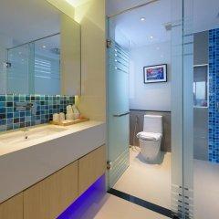 Отель Deep Blue Z10 Pattaya Стандартный номер с различными типами кроватей фото 3