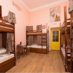 Центро Хостел Кровать в общем номере с двухъярусными кроватями фото 2