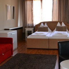 Отель Goldfisch Vienna City Apartments Австрия, Вена - отзывы, цены и фото номеров - забронировать отель Goldfisch Vienna City Apartments онлайн комната для гостей фото 3
