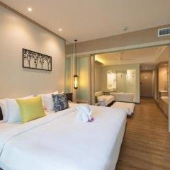 Отель Katathani Phuket Beach Resort 5* Номер Делюкс с двуспальной кроватью фото 6