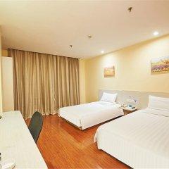 Отель Hanting Hotel Beijing Liufang Branch Китай, Пекин - отзывы, цены и фото номеров - забронировать отель Hanting Hotel Beijing Liufang Branch онлайн комната для гостей фото 2