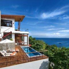 Отель Villas Del Sol Koh Tao Таиланд, Шарк-Бей - отзывы, цены и фото номеров - забронировать отель Villas Del Sol Koh Tao онлайн пляж фото 2
