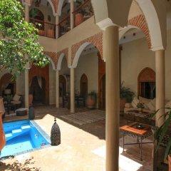 Отель Riad Zen House Марракеш балкон