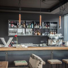 Апартаменты Design-Apartments im lebendigen Haus гостиничный бар
