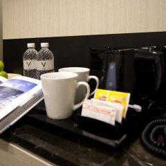 Отель V Bencoolen 4* Номер Делюкс фото 5