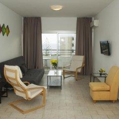 Апартаменты Anemos Apartments комната для гостей фото 2
