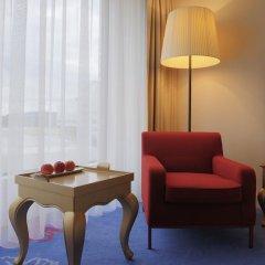 Radisson Blu Hotel Zurich Airport 4* Стандартный номер с различными типами кроватей фото 8