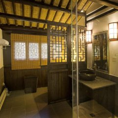 Отель Suzhou Shuian Lohas Вилла с различными типами кроватей фото 30