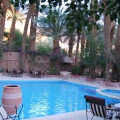 Отель Kasbah Sirocco Марокко, Загора - отзывы, цены и фото номеров - забронировать отель Kasbah Sirocco онлайн бассейн фото 2