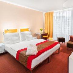 Отель Andel's by Vienna House Prague 4* Представительский номер с различными типами кроватей фото 5