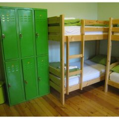 Elegance Hostel and Guesthouse Кровать в общем номере с двухъярусной кроватью фото 3