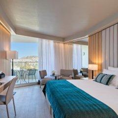Отель Divani Apollon Palace & Thalasso 5* Люкс с различными типами кроватей фото 3