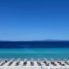 Отель Antigoni Beach Resort пляж