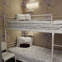Хостел Ника-Сити Кровати в общем номере с двухъярусными кроватями фото 33