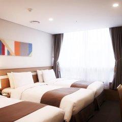 Tmark Hotel Myeongdong 3* Стандартный номер с различными типами кроватей фото 4