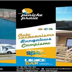 Отель PenichePraia - Bungalows, Campers & Spa парковка