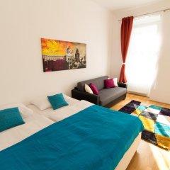 Отель CheckVienna - Lassallestrasse Апартаменты с различными типами кроватей фото 11