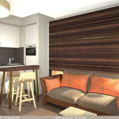 Отель Aparthotel Adagio Edinburgh Royal Mile 4* Апартаменты с различными типами кроватей