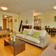 Апартаменты Daily Apartments Viru Penthouse Таллин комната для гостей
