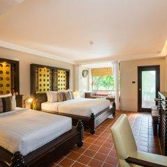 Отель Aonang Princeville Villa Resort and Spa 4* Семейный номер Делюкс с двуспальной кроватью фото 9
