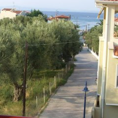 Отель Katerina Apartments Греция, Пефкохори - отзывы, цены и фото номеров - забронировать отель Katerina Apartments онлайн пляж фото 2