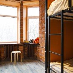 Хостел Портал Стандартный номер с двуспальной кроватью (общая ванная комната) фото 6