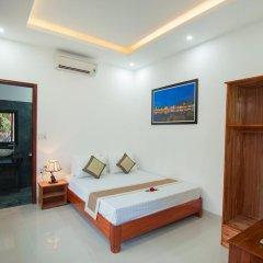 Отель Tra Que Flower Homestay Стандартный номер с двуспальной кроватью фото 17