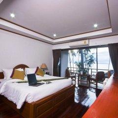 Отель Lipa Bay Resort 3* Улучшенный номер с различными типами кроватей фото 3