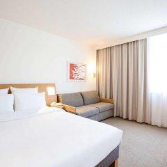 Отель Novotel Madrid Campo de las Naciones Улучшенный номер с различными типами кроватей