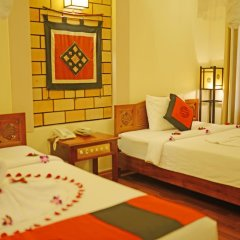 Thien Thanh Green View Boutique Hotel 3* Номер Делюкс с различными типами кроватей фото 6