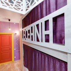Гостиница Жилое помещение Современник Кровать в общем номере с двухъярусной кроватью